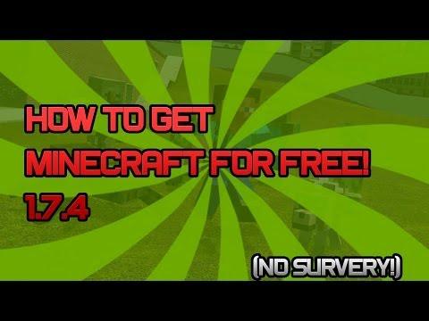 HOW TO GET A FULL FREE PREMIUM MINECRAFT ACCOUNT FREE! 1.7.4 (No Surveys)