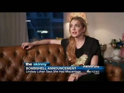 Lindsay Lohan's Bombshell Announcement