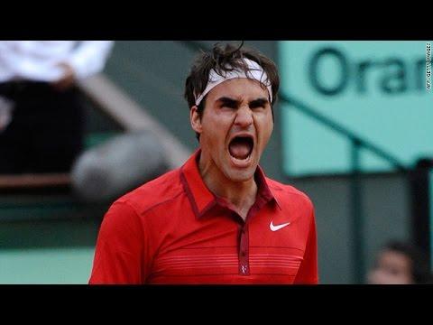 Roger Federer vs Novak Djokovic Roland Garros 2011 Highlights