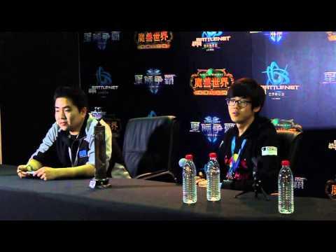 Startale Parting BWC 2012 Championship Group Interview (NA/EU)
