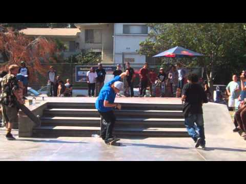 Kickflip back smith 180 out down hubba - Jordan Maxham