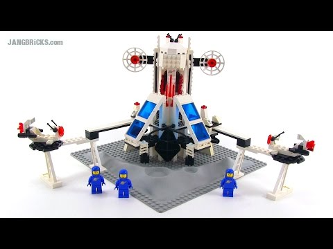 LEGO Classic Space 6972 Polaris I Space Lab from 1987! klip izle