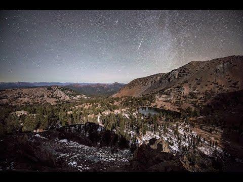 美し過ぎるおうし座流星群☆流星タイムラプス