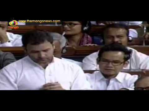 Rahul Gandhi speech on Land Bill in Lok Sabha, attacks Modi and BJP government