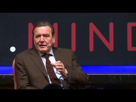 Gerhard Schröder Bundeskanzler a.D. ZURICH.MINDS Interview mit Rolf Dobelli