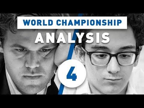 Carlsen - Caruana Game 4 World Chess Championship 2018 | Grandmaster Analysis