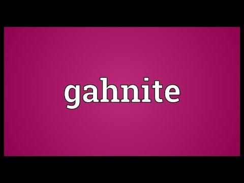 Header of gahnite