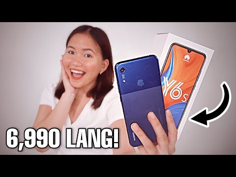 HUAWEI Y6s UNBOXING amp REVIEW BAGONG BUDGET PHONE!