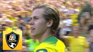 Todd Cantwell equalizes for Norwich City against Chelsea | Premier League | NBC Sports