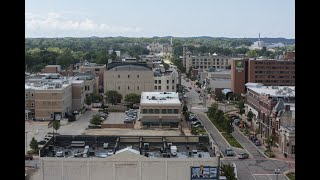 Driving tour of development in downtown Muskegon