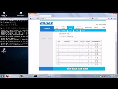 CONFIGURAR PC- Abrir puertos a modem o router