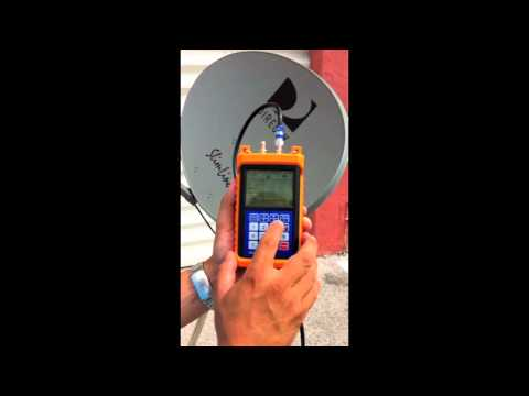 Tracker Light Satellite Meter for DirecTV