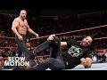 Seth Rollins reapareció en RAW pero Triple H le propinó brutal paliza - Noticias de johanna stephanie poon pajuelo
