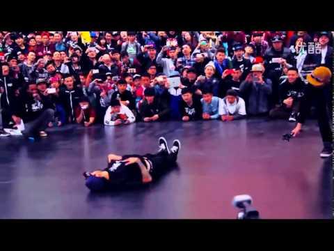 Chao 1st  Flexum Bboy Casper Physicx Benji in China 2014