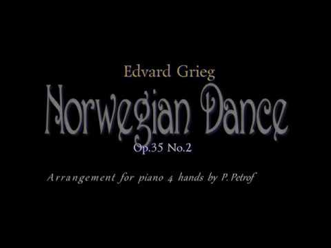 Григ Эдвард - Transcriptions for 4 hands Two Simphonic Dances