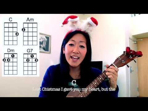 Last Christmas - Wham // Easy Holiday Ukulele Play-Along