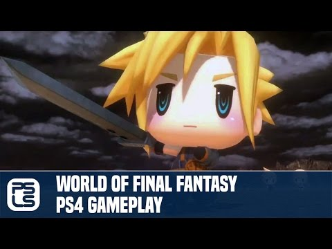 World of Final Fantasy PS4 Gameplay