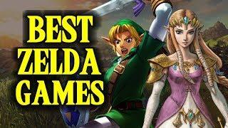 Top 10 ZELDA GAMES!