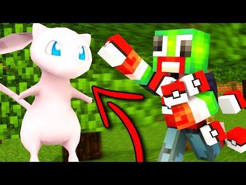 CATCHING MEW IN POKEMON GO! (MINECRAFT Pokemon Go)
