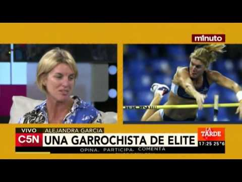 C5N - Deporte: Entrevista a  Alejandra García, garrochista olímpica de Argentina