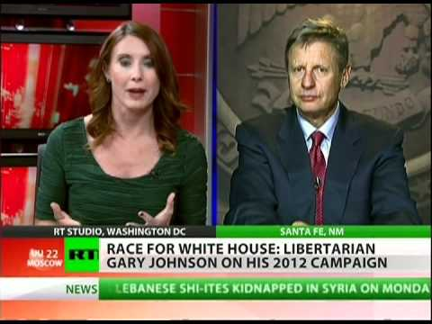 Gary Johnson: Americans become more Libertarian