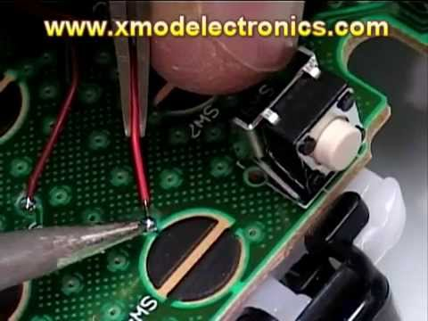 XMOD Rapid Fire Mod Chip How To Install 20 Modes JITTER