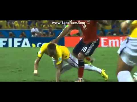 Juan Zuniga apologises for Neymar injury - Neymar got injured 2014 World Cup