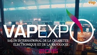 VAPEXPO 2016, Le speed tour !