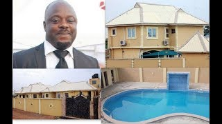 See Yoruba Actor Muka Ray's Newly Completed N320Million Hotel &Suites With Gigantic Swimming Pool