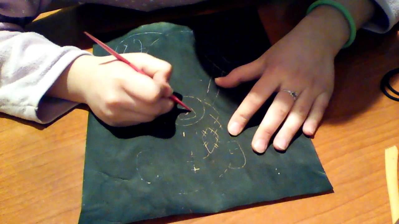Сделать гравюру своими руками