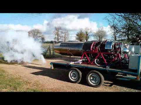 Viper Jet Engine 535 Jet Engine Afterburner