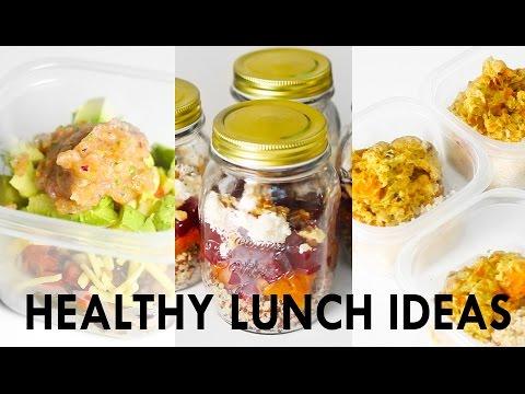 3 Healthy Lunch Ideas, Meal Prep [Vegetarian + Vegan options] // Rachel Aust