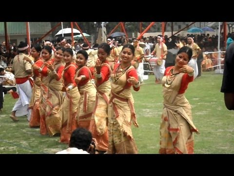 Bihu Dance Is The Most Popular Folk Dance Of Assam - বিহু নৃত্য video