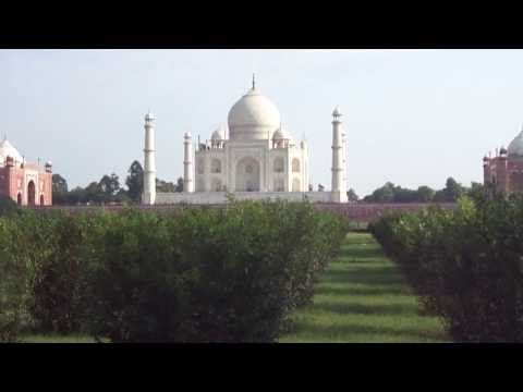 HD video From Taj Mahal for description travel guide
