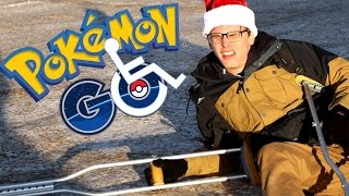Disabled Pokemon Go #3 - Santa Pikachu