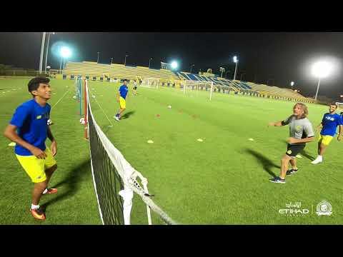 قناة النصر : على ملعب الرمز .. #العالمي يواصل التدريبات