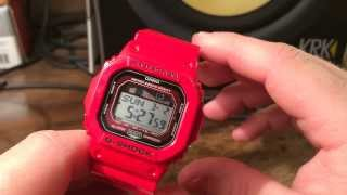 GLX5600-4 Red G-Lide Casio G-Shock Watch Review