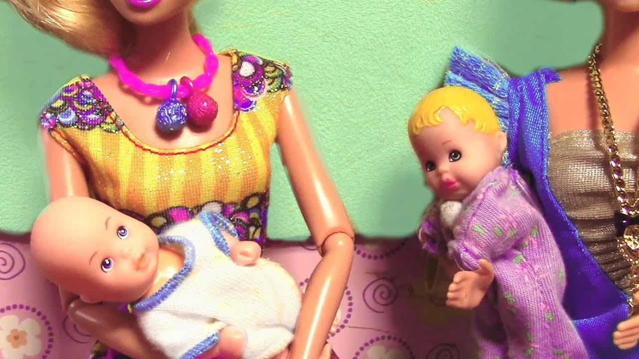 Princess Elsa And Kristoff Babies Frozen Parody Barbie