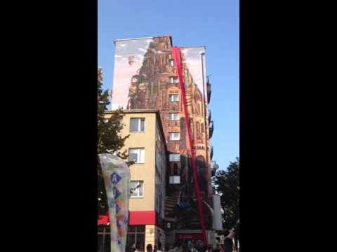 Odsłonięcie Muralu W Częstochowie