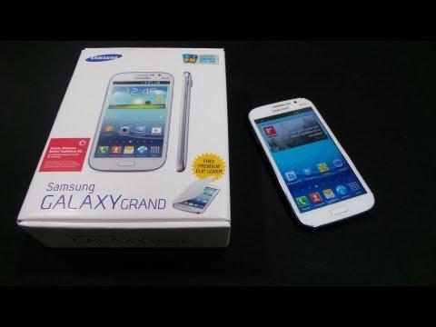 Samsung Galaxy Grand Duos GT-I9082 - Unboxing & Hands-on - Cursed4Eva.com