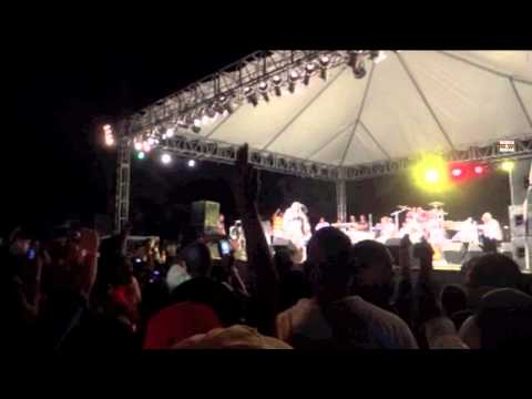 I Octane live at Jamaica International Kite Festival 2012 (part 1)