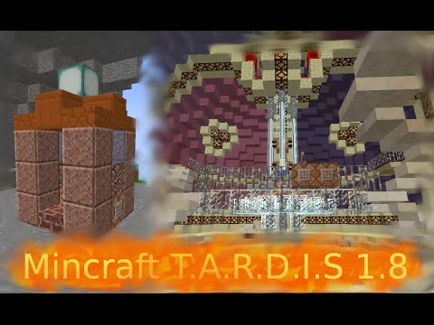 Tardis in vanilla minecraft