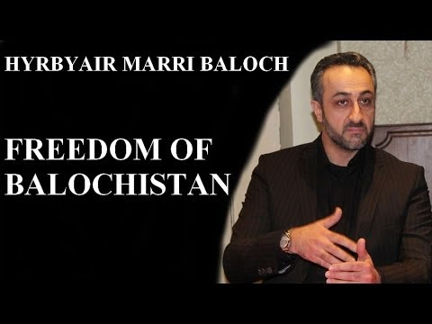 We are struggling for the independence of Balochistan: Hyrbyair Marri