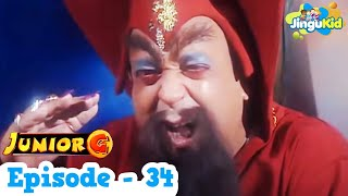 Junior G - Episode 34 | HD Superhero TV Series | Superheroes & Super Powers Show for Kids