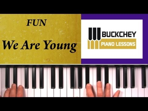 How To Play 'we Are Young' By Fun On Piano video