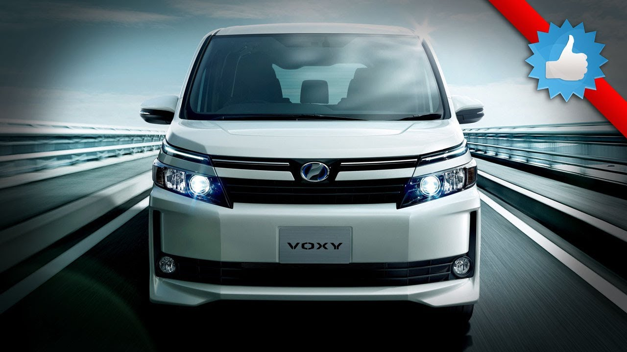 Toyota Mini Van 2015 Toyota Voxy for Japanese Market - YouTube