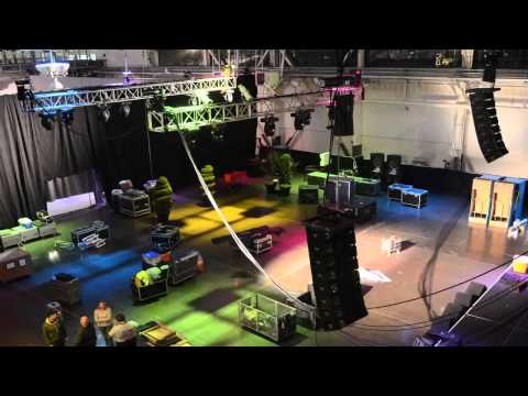 Time Lapse of setup Corporate Christmas Party at Craneway Pavilion - Video by Josh Rodriguez.mov