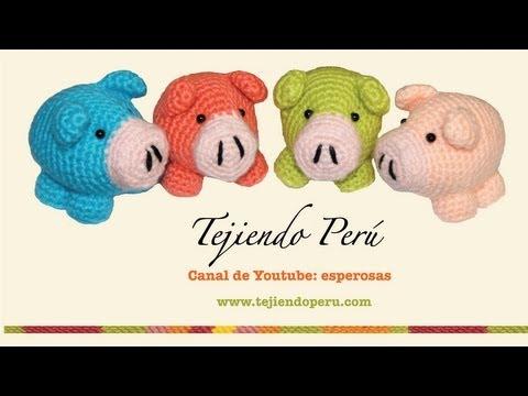 Hello Kitty Tejida A Crochet Amigurumi Parte 1 Cabeza ...