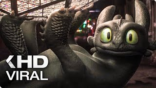 HOW TO TRAIN YOUR DRAGON 3 - Toothless at Times Square Viral Clip (2019)