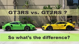 PORSCHE GT3RS vs  GT2RS